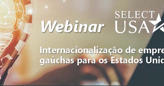 Departamento de Comércio dos EUA realiza seminário virtual